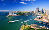 Waterfront- Downtown Sydney...