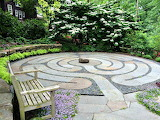 A Healing labyrinth by Claire Jones Landscapes