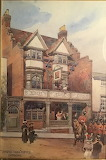 The Three Tuns Hotel, Dorking by Thomas Riley Clemmence