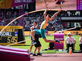 Australian Pole Vaulter to Japan Olympics ROTATION credit ABC