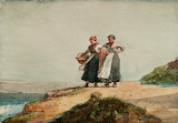 Looking out to Sea by Winslow Homer 1882