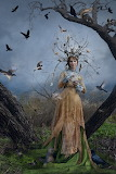 The Court Of The Dryad Queen etsy