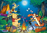 Winnie the Pooh Camping