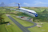 Beautiful Painting of Vickers VC10