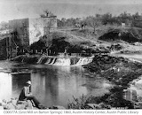 Grist Mill on Barton Springs, 1860