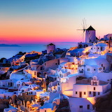 Night in Santorini...