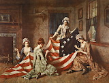 Betsy Ross Designer of American Flag 1776