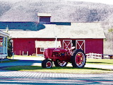 Red Barn Red Tractor