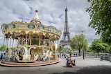 Paris-Eiffel Tower-carousel