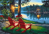 ☺ Peaceful sweet summer evening...