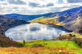 Lough Tay in Wicklow County, Ireland