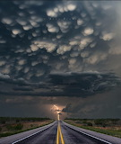 stormy road