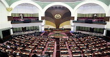 Parliament room in Afghanistan