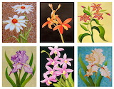 ☺ Collage- Flower paintings