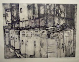 Empty Lockers, Caphouse Colliery - Hayley Perry