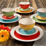 ^ Confetti Band dinnerware