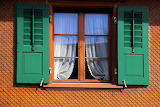 Veiled Window and Shutters
