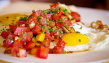 #Fried Eggs with Fresh Salsa