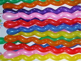 Colors rainbow balloons
