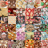 Christmas Cookie Collage 2