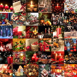 Christmas Holiday Still Lifes Collage