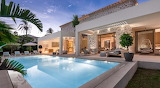 Luxury modern villa and pool in Santa Ponsa Mallorca