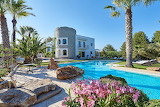 luxury villa and pool spain
