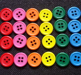 Pretty buttons all in rows