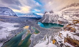 Lakes in Yoho National Park-Canada
