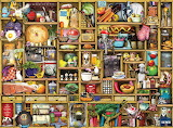 Kitchen Cupboard By Colin Thompson