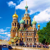 Church on Spilled Blood - St. Petersburg, Russia...