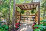Outdoor Mediation Patio Setting