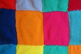 ☺♥ Knitted squares...