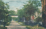 Wombwell Cemetery Postcard