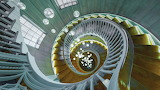 Cecil Brewer Spiral Staircase at Heal's, London