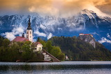 ☺♥ Bled lake in the Julian Alps in Slovenia...