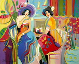 Isaac Maimon - Side Pot with Flowers