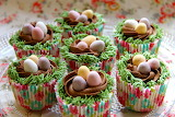 EasterNestCupcake