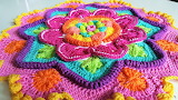 Bright, Colorful Yarn Art