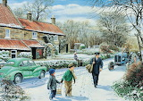 'Winter Round'  by Trevor Mitchell