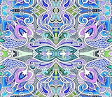 In a Big Paisley Place digital fabric