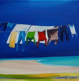 'Clothesline' by Pam Carter