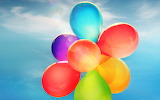 Colorful balloons-wide