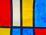 #Kids Art Market- Primary Colors With Mondrain