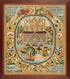 Nancy Hall's Sampler dated 1788