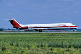 Allegheny Airlines DC-9-50 departing Chicago