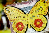 Be free butterfly