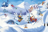Mickey and Friends Skiing