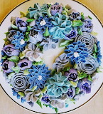 Rotate the cake flowers @ Coffee to Compost