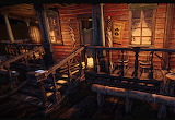 Old West Saloon Porch